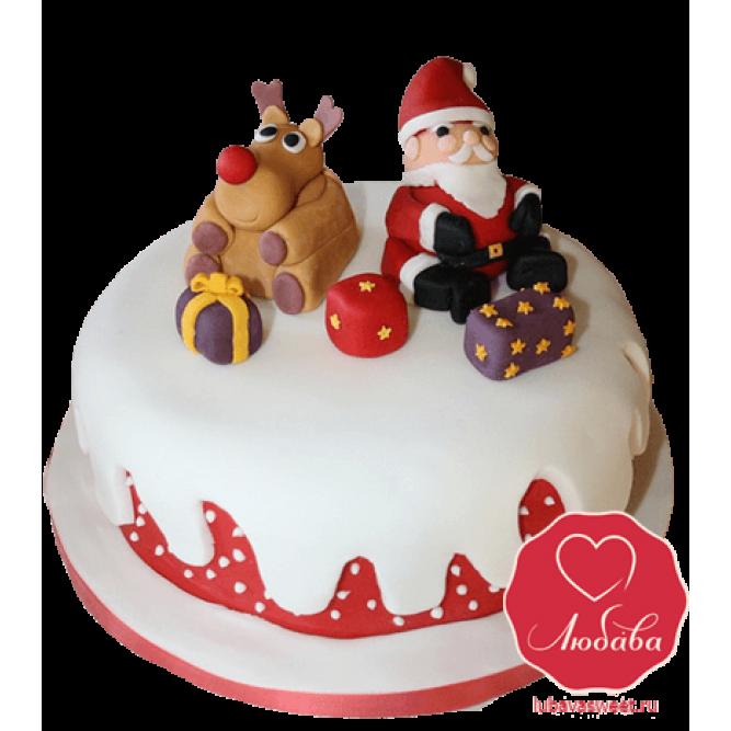 Торт Новогодний №771