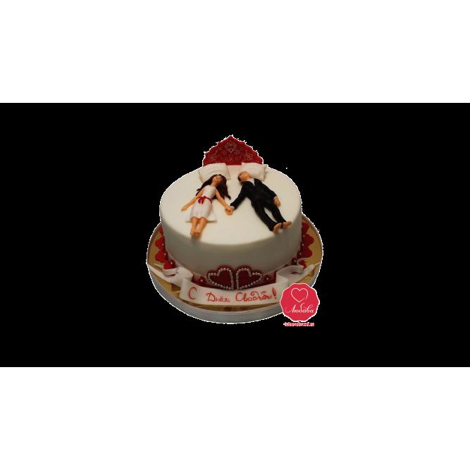 Торт Молодожены №990