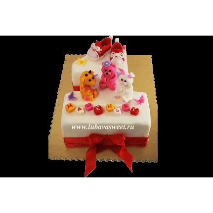 Торт на 1 годик ребенку №704