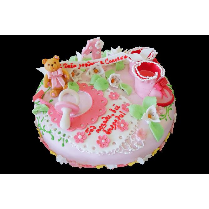 Торт Малышу один годик №359