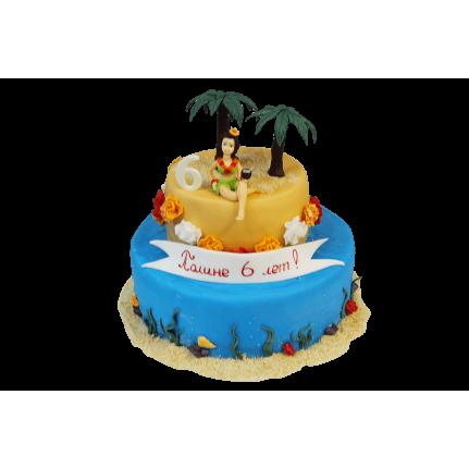 Торт Райский остров №370