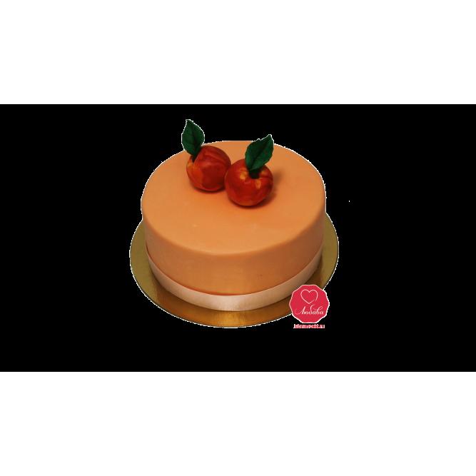 Торт Персики №1041