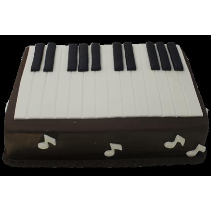 Торт Клавиши пианино №465
