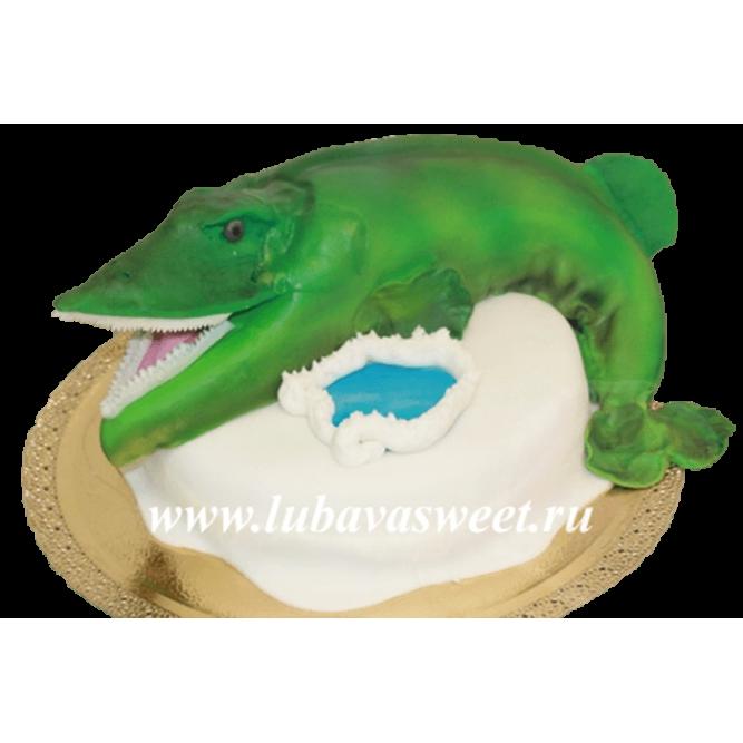 Торт Щука у проруби №239