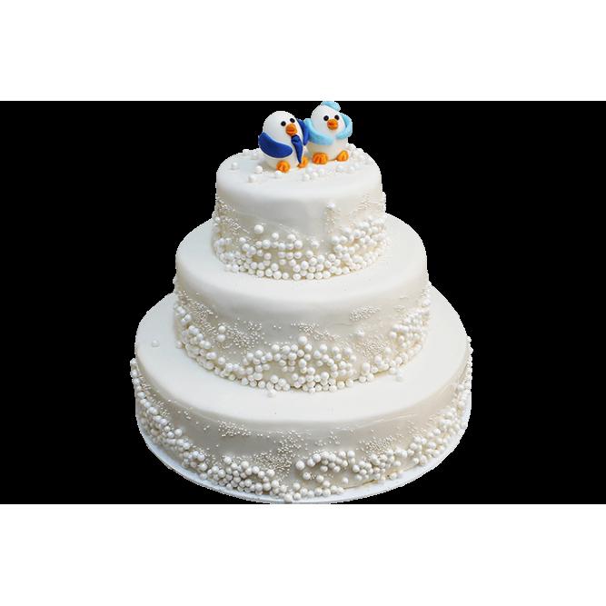 Торт Пингвины №268
