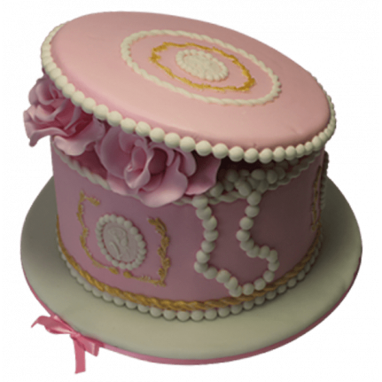 Торт Розовая шкатулка №483
