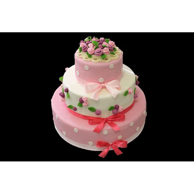 Торт Розовое наслаждение №391