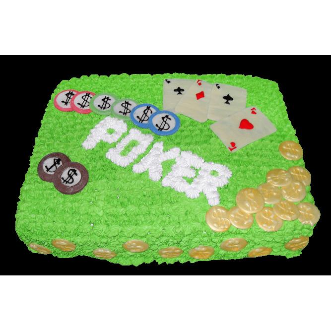 Торт Покер №384