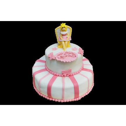 Торт Принцесса с короной №387
