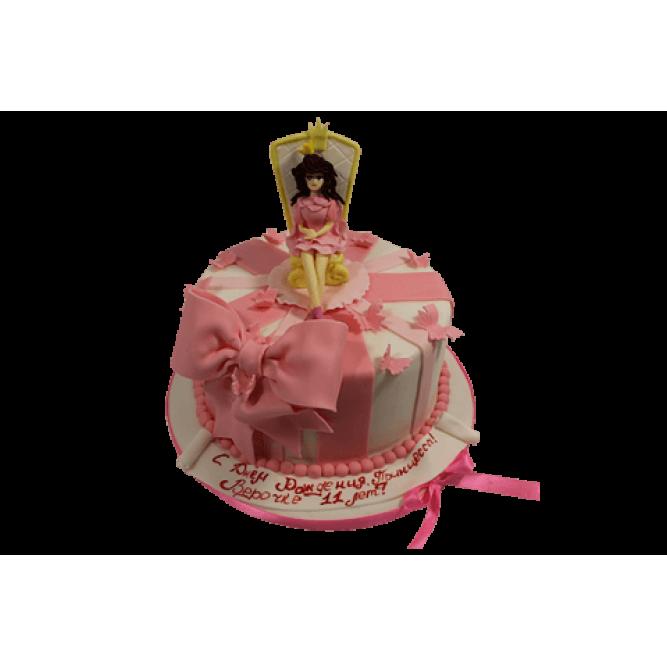 Торт Принцесса на троне №571