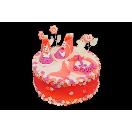 Торт Красные башмачки №343