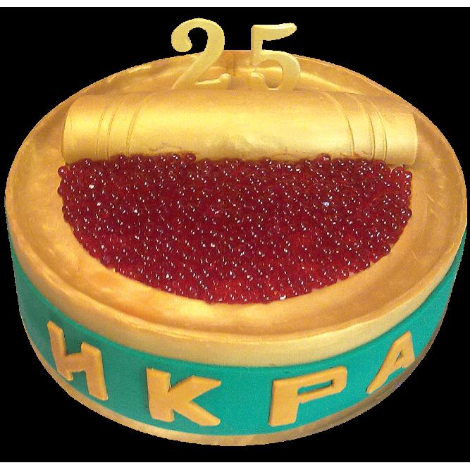 Торт Икра красная №335