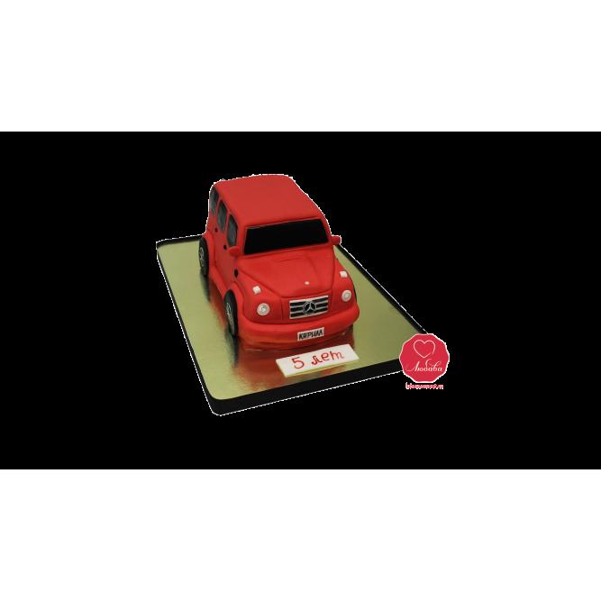 Торт Красный мерседес №967