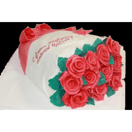 Торт розы на День рождения №236