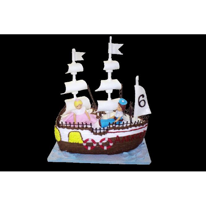 Торт Парусный барк №378