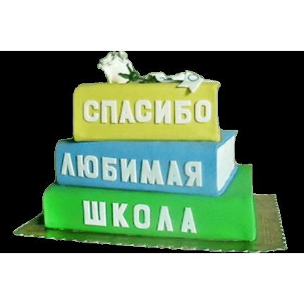 Торт Спасибо любимая школа №584