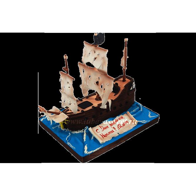 Торт Корабль №689