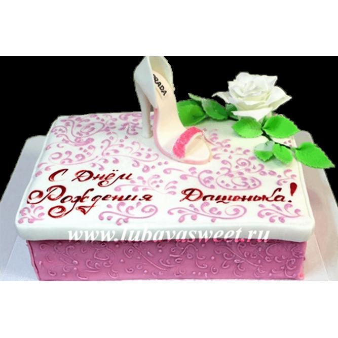 Торт туфелька №184