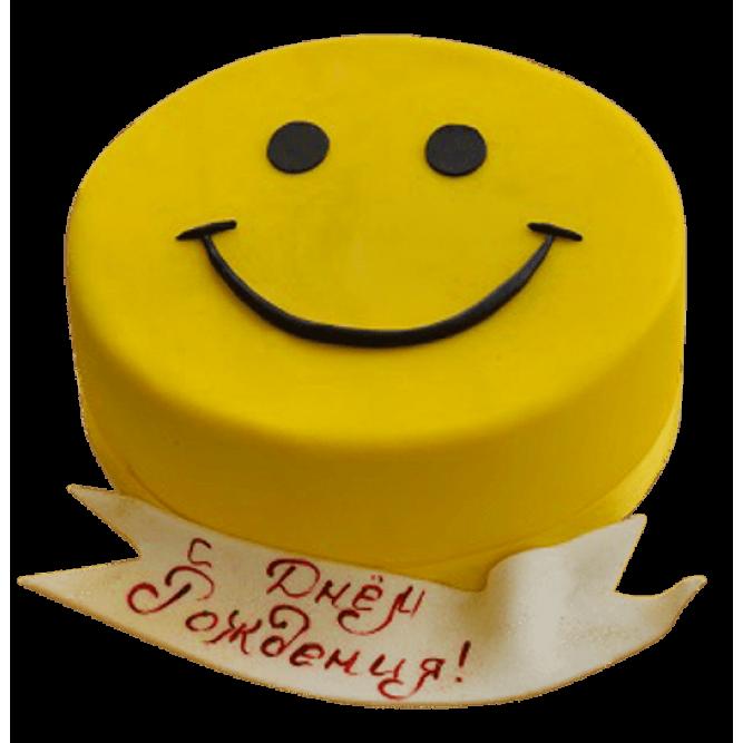 Торт Смайлик №278