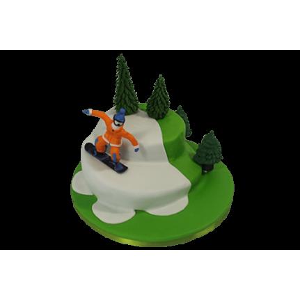 Торт Сноубордист №491