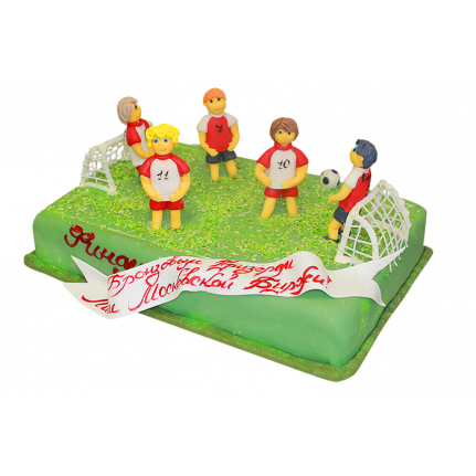 Торт футбол №116