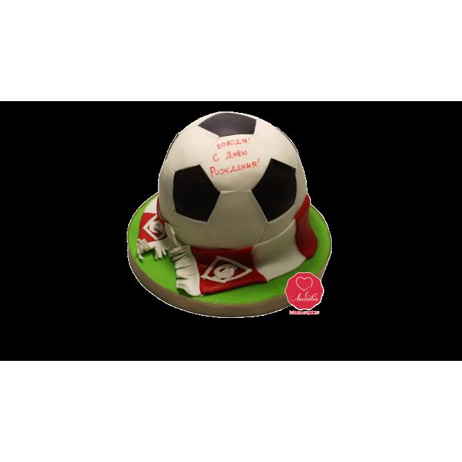 Торт Футбольный мяч №1012