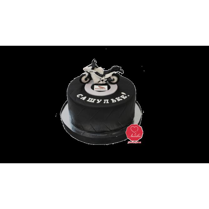 Торт Скоростной байк №912