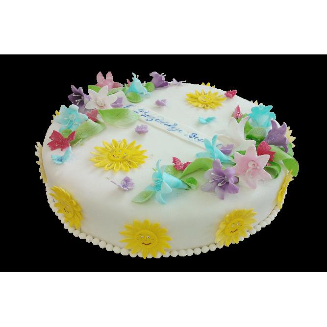 Торт Весенний №427