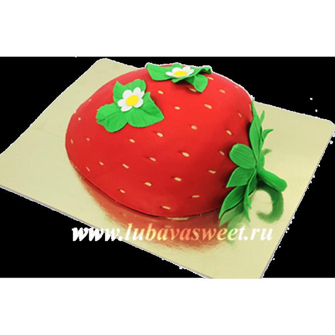 Торт Клубничка №624