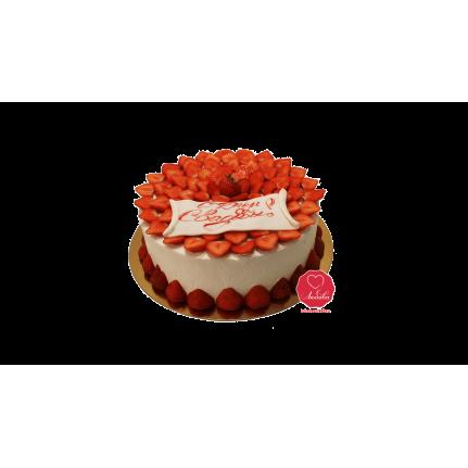 Торт Клубничный №985