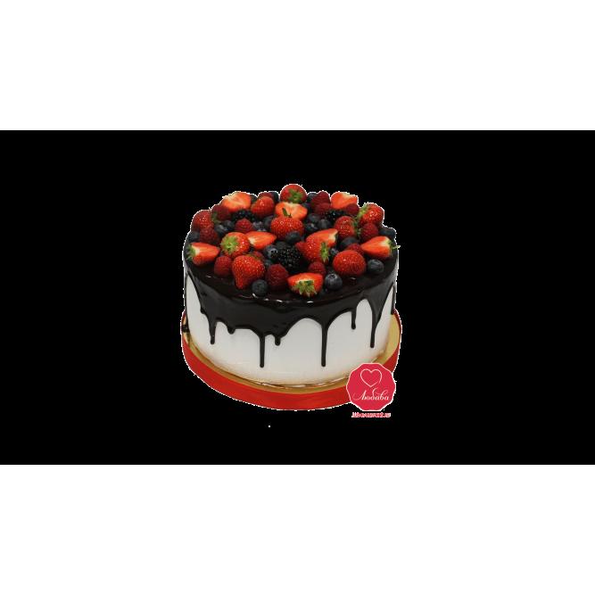 Торт Клубнично-ягодный №1018