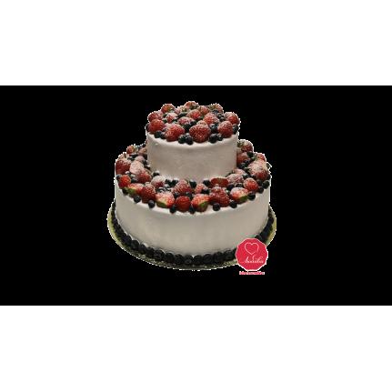 Торт Клубничное наслаждение №339