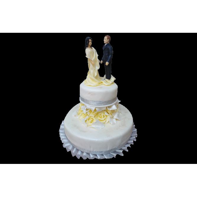Торт свадебный Стиль невесты №415
