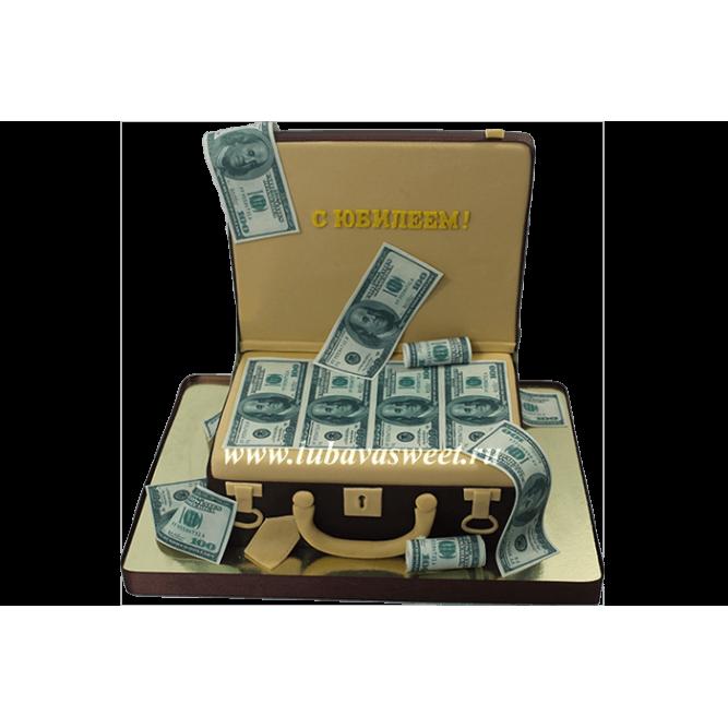 Торт Чемодан с деньгами №608