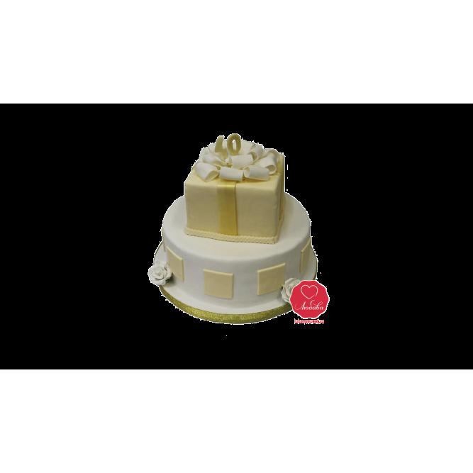 Торт на Юбилей 40 лет №980