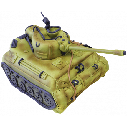 Торт Танк Т-72 №155