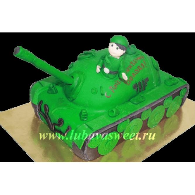Торт Танкист №262