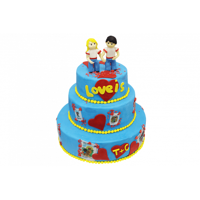 Торт Тинейджеры №424