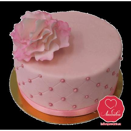 Торт нежная роза №904