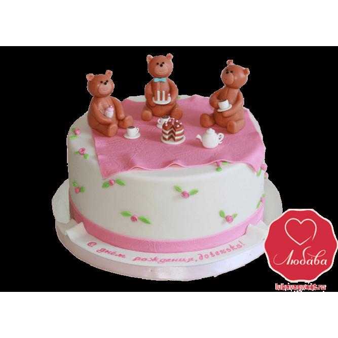 Торт Три Медведя №773