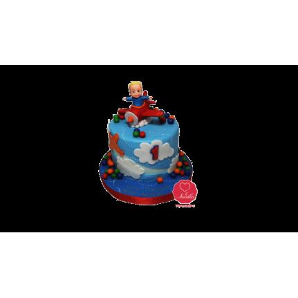 Торт Малыш на самолете