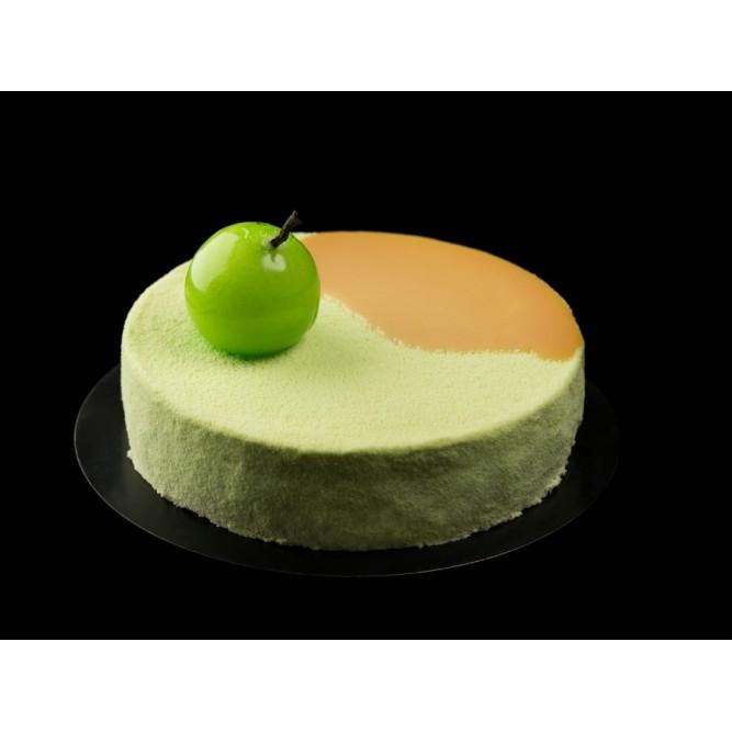 Торт Бархатный белый с яблоком №1138