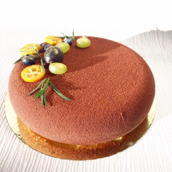 Торт Бархатный коричневый №1134