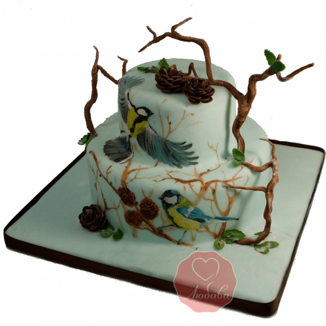 Торт Синички №1161