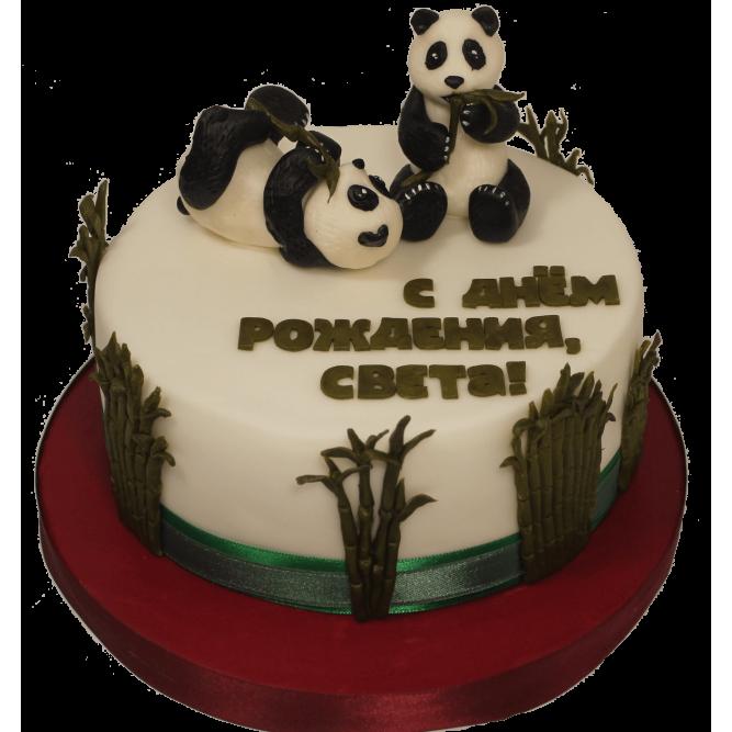 Торт с пандами №1146