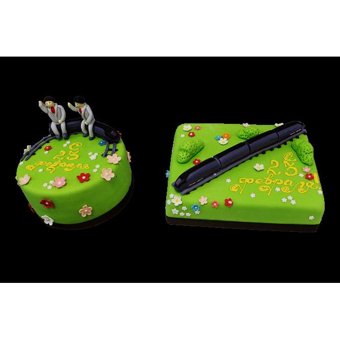 Торт Поезд №175