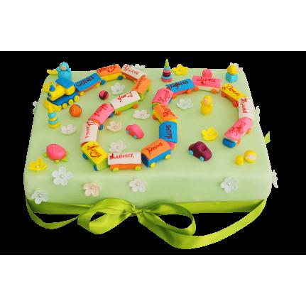 Торт Паровозик с друзьями №377