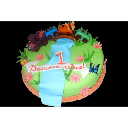 Торт Паровозик №180