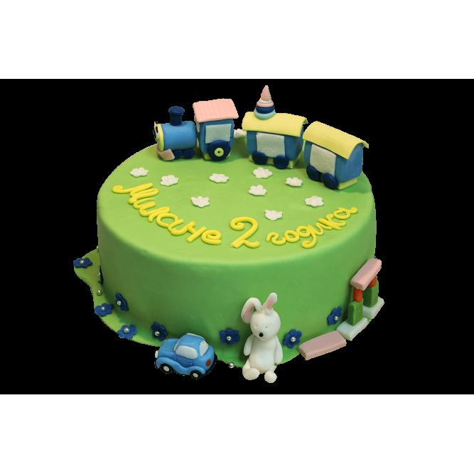 Торт Паровозик из Ромашкова №376
