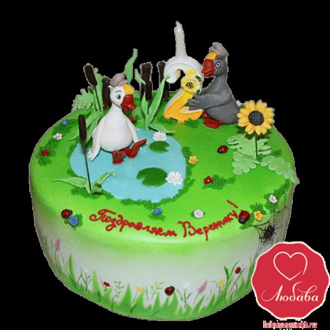 Торт два веселых гуся №787
